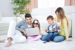 carpet cleaning family