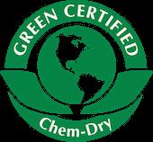 Green-Certified Chem-Dry green planet logo