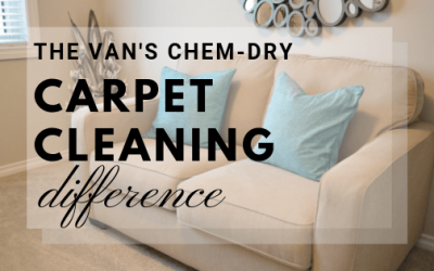 The Van's Chem-Dry Carpet Cleaning Difference
