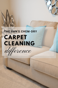 the vans chem dry carpet cleaning difference