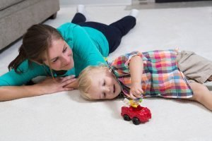 family on carpet sacramento carpet cleaning