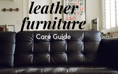 Leather Furniture Care Guide