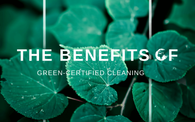 The Benefits Of Green-Certified Cleaning