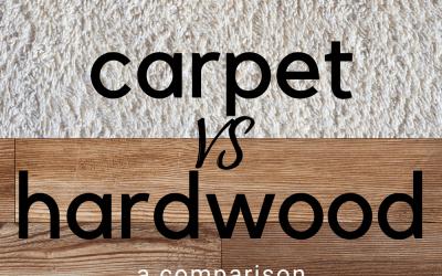 Carpet Vs Hardwood: A Comparison