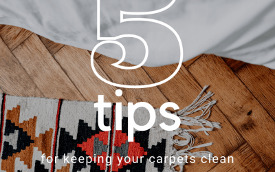 Five Tips For Keeping Your Carpets Clean This Summer