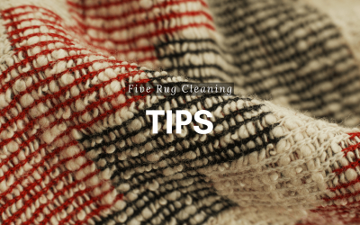 Five Rug Cleaning Tips